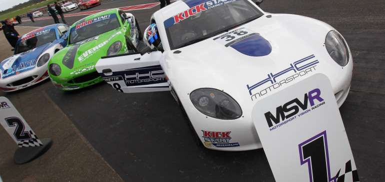 Caroline takes Ginetta Winter Series honours