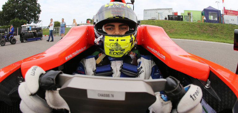 Ahmed claims, not one but TWO maiden single seater victories in one weekend!