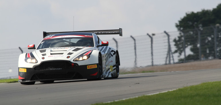 Glew and Houghton take maiden victory in Aston Martin GT3