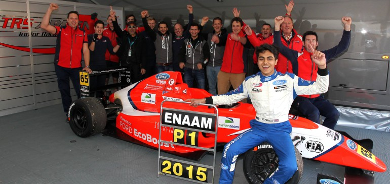 AHMED CROWNED ROOKIE CHAMPION OF MSA FORMULA 2015