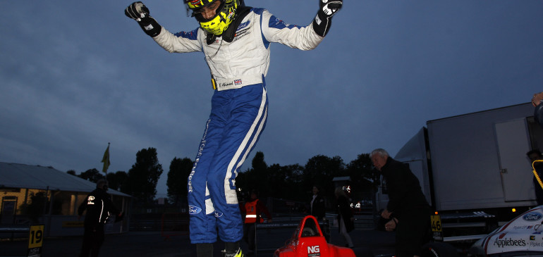 AHMED TAKES HIS FIRST UK MSA RACE WIN IN DRAMATIC STYLE!