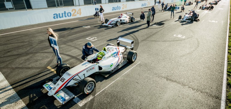 THREE POLES AND THREE WINS FOR AHMED IN PARNU