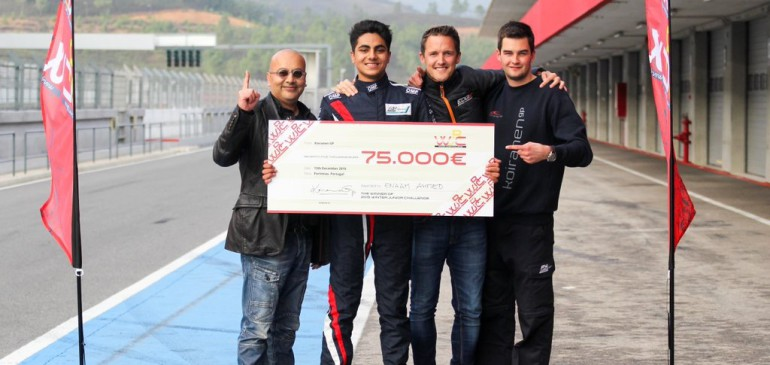 Ahmed Takes Junior Winter Challenge Victory and 75,000 Euro Prize!