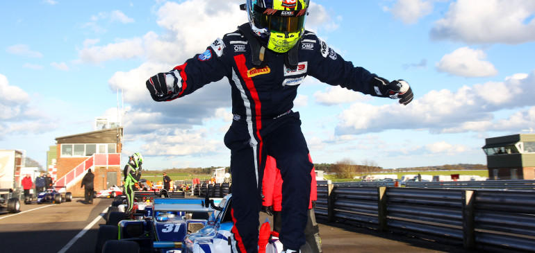 Ahmed Leads BRDC F3 Championship After Round 1
