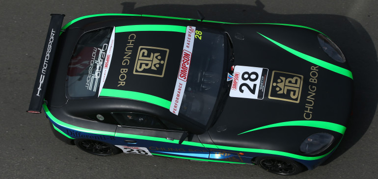 Steep learning curve for Fagg at Donington Park