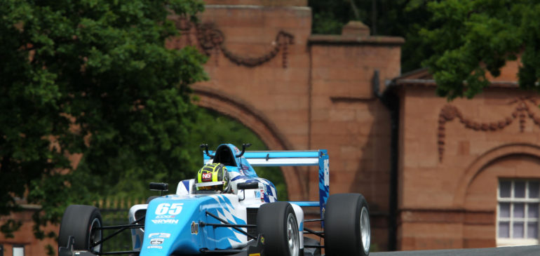 Solid points haul for Ahmed at Oulton Park