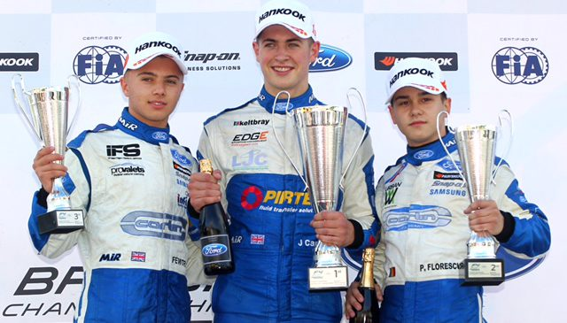 Caroline Dominates With Maiden British F4 Victory