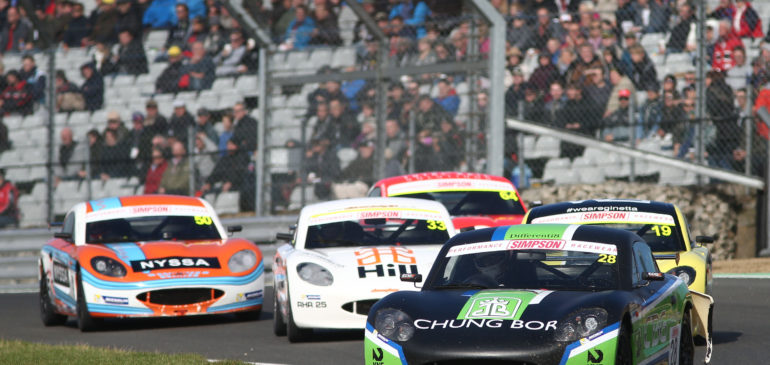 Near Podiums for Fagg at Brands Hatch Season Finale