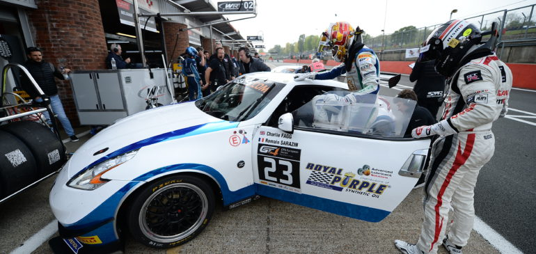 Pitstop Penalty Costs Fagg And Sarazin Podium At Brands Hatch