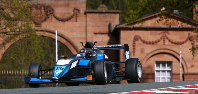 Challenging Opening Round For Hayek In BRDC F3