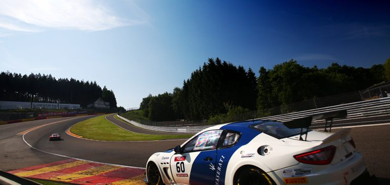 FAGG TAKES DOUBLE VICTORY IN BRITISH GT AT SPA