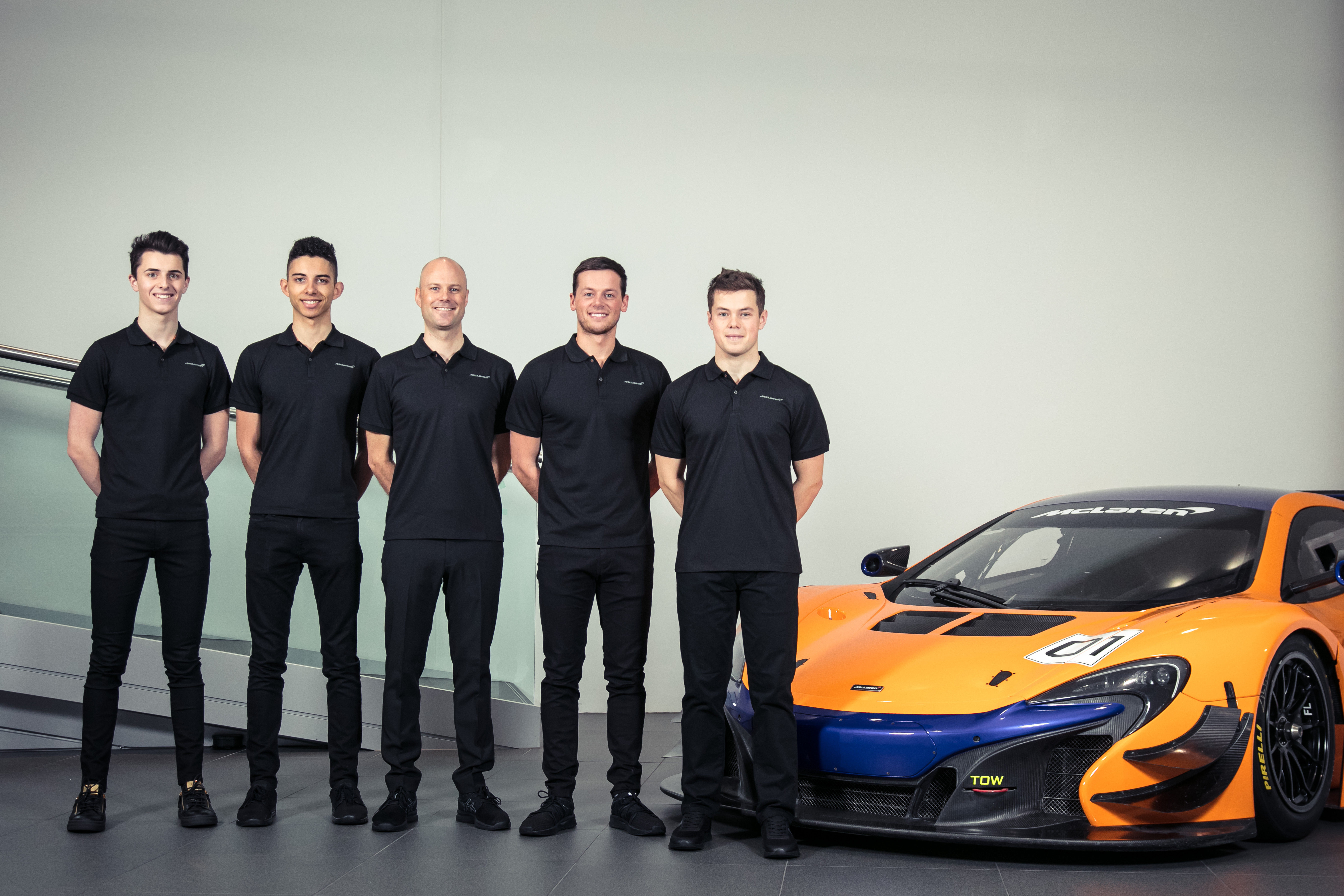 McLaren Automotive motorsport Press Conference 21st November 2017