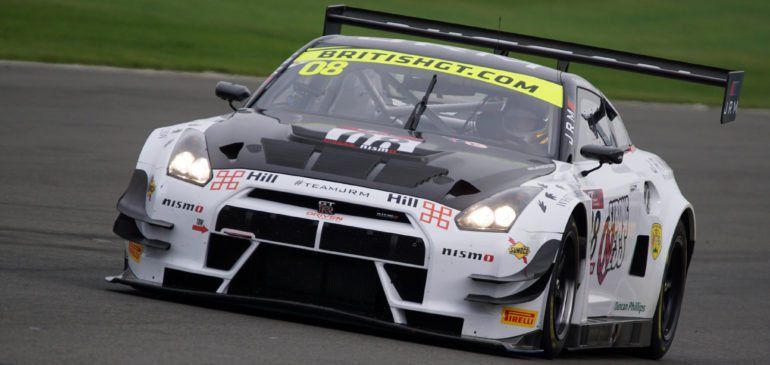 FAGG & GREEN SHINE IN NISMO GT-R GT3 AT DONINGTON PARK