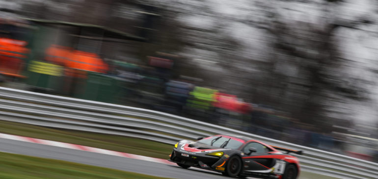 Podium For Fagg and McLaren In British GT Debut