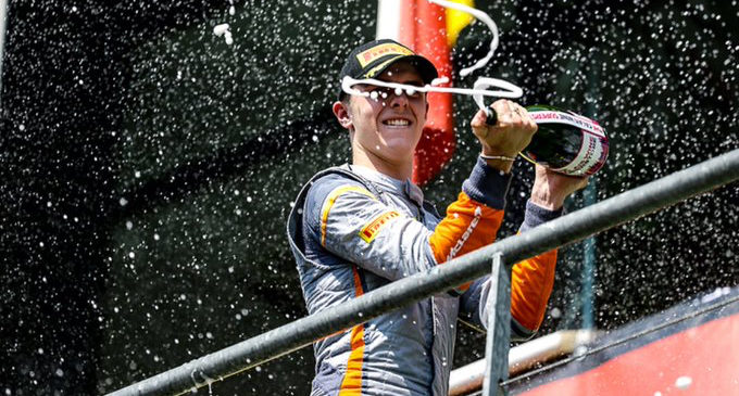 Epic drive sees Fagg and O'Brien in P2 at Spa