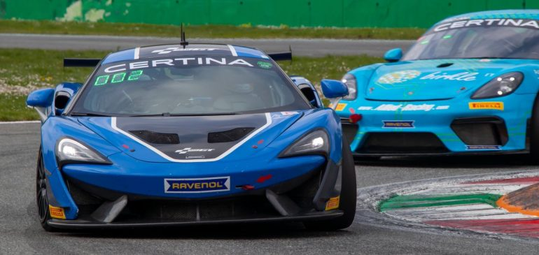 STRONG START FOR FAGG AT MONZA
