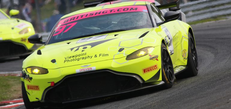 Steep learning curve for Hand at Oulton Park
