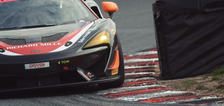JOSH SMITH ON THE PODIUM IN FIRST GT RACE AT OULTON PARK
