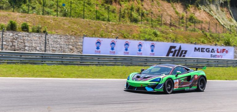 TWO TOP TEN'S FOR FAGG AND CAI AT NINGBO IN CHINA GT