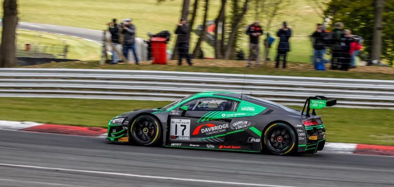 PODIUM FOR GAMBLE IN FIRST OUTING IN BLANCPAIN WORLD CHALLENGE