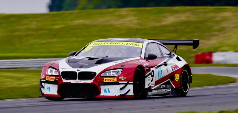 POLE POSITION FOR GAMBLE IN DEBUT BRITISH GT RACE