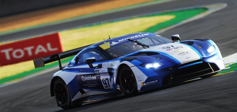 Two top six finishes for Gamble at Le Mans curtain raiser