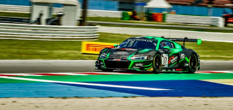 Podium for Gamble at Misano in Blancpain GT World Challenge Europe