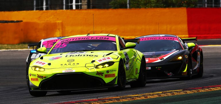 Podium for Price at Spa in British GT