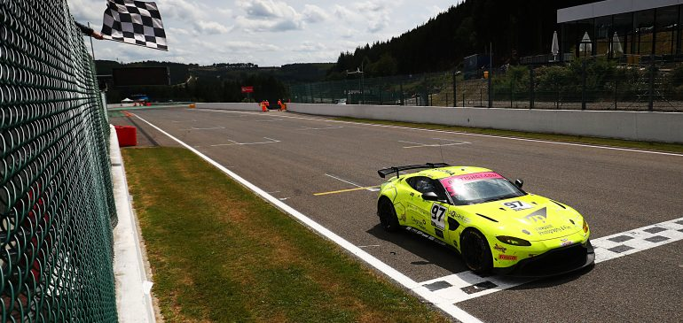 Ash Hand secures first GT4 victory at iconic Spa-Francorchamps