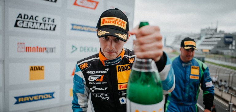First ADAC GT4 VICTORY FOR FAGG AT NURBURGRING