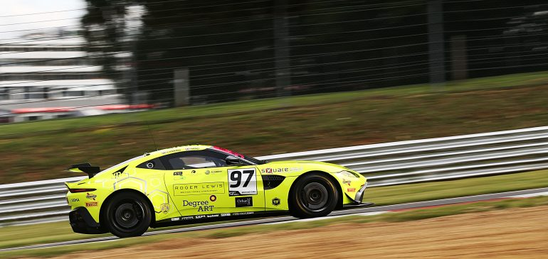 Brands Hatch Podium for British GT Championship GT4 Class leader Ash Hand