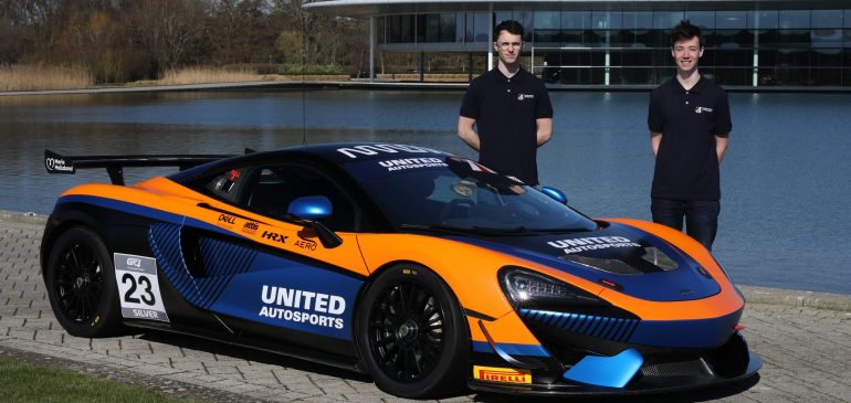 BAILEY VOISIN AND CHARLIE FAGG JOIN UNITED AUTOSPORTS FOR EUROPEAN GT4