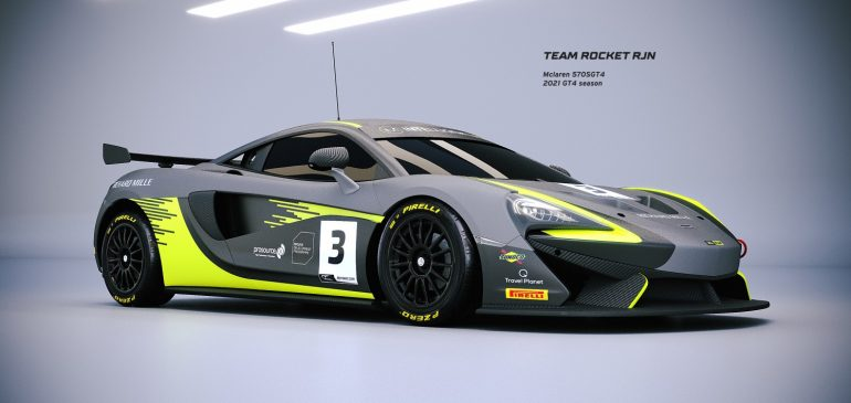 Milner & Hayek resume McLaren DDP for 2021 with Rocket RJN in British GT4