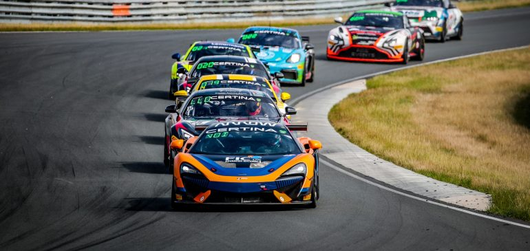 Tough weekend at Zandvoort for Fagg & Voisin