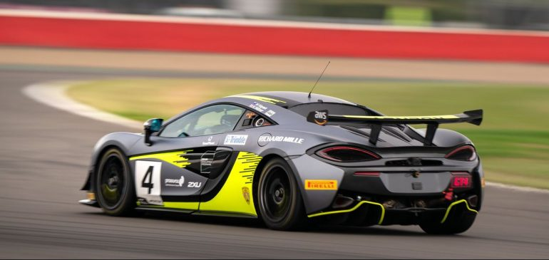 TECHNICAL ISSUE HAMPERS MILNER AND HAYEK AT SILVERSTONE 500