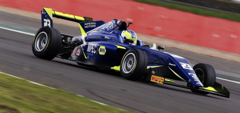 A weekend of learning for Aron at Silverstone