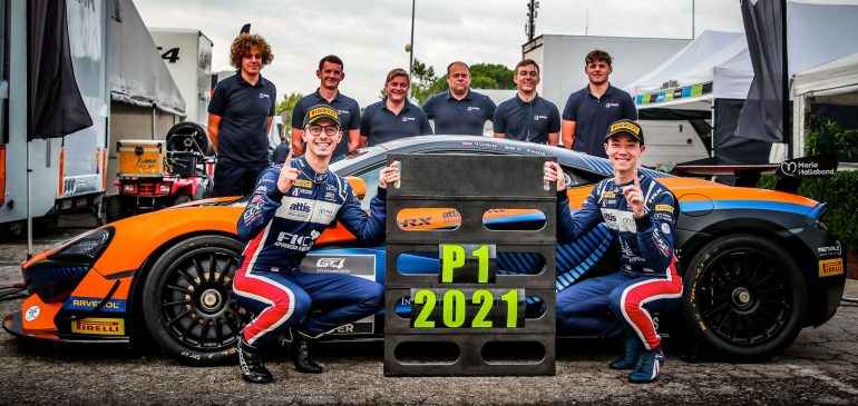 VOISIN & FAGG BECOME EUROPEAN GT4 CHAMPIONS IN BARCELONA